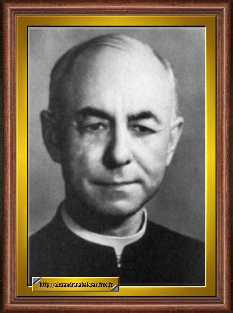 Rev. Padre Mariano Pinho, Jesuíta, 1.º Director Espiritual da Beata Alexandrina... Faleceu no Recife (Brasil), em odor de santidade.